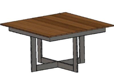 stół 42cm q